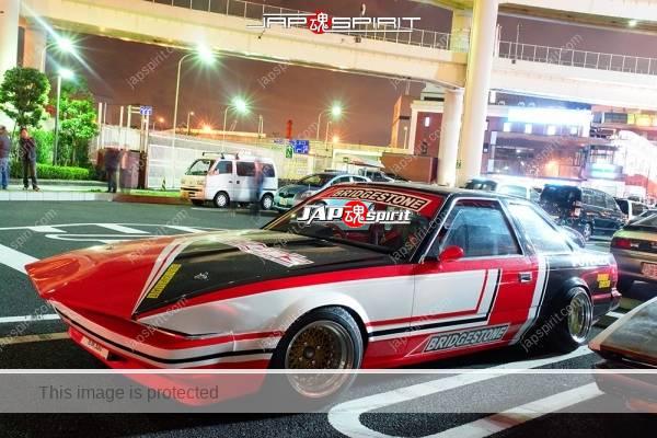 Photo of TOYOTA Soara Z10, Zokusha style, long nose, Bridgestone painting