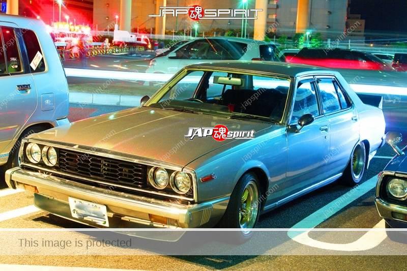 NISSAN Skyline 5th C210, Japan, Zenki, round head light, silver color (2)