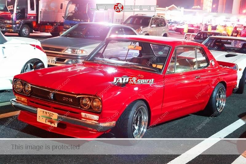 NISSAN Skyline GT-R PGC10/KPGC10, Hakosuka, red color, chinsupo (4)