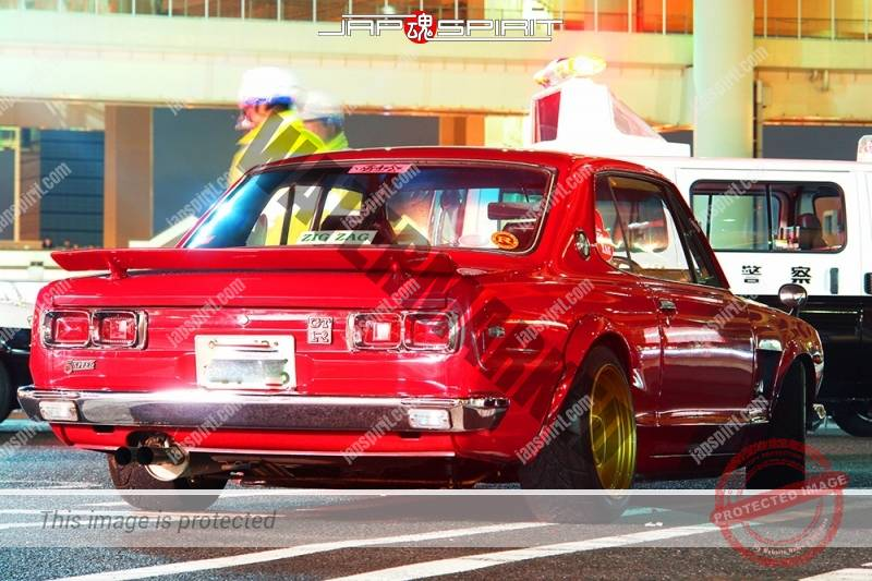 NISSAN Skyline GT-R PGC10/KPGC10, Hakosuka, red color, chinsupo (3)