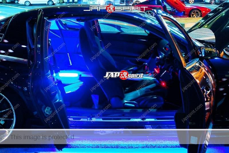 MAZDA RX8, Samurai worrior vinylgrahic with xsa wheel and blue lighting 2 (2)