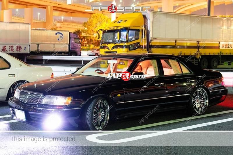 NISSAN CIMA 3rd FY33, VIP style, black car, interior lighting (2)