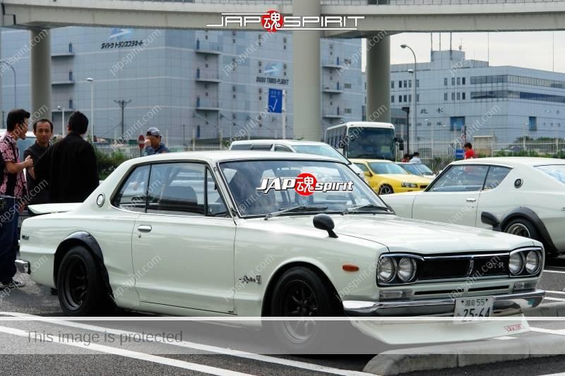 NISSAN Skyline GT-R 1st PGC10 Seitoha style meeting at Day Daikoku (6)