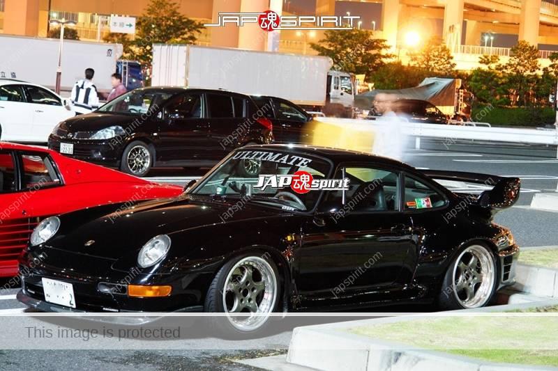 Porsche 993 blackcolor team Ultimate at Daikoku PA