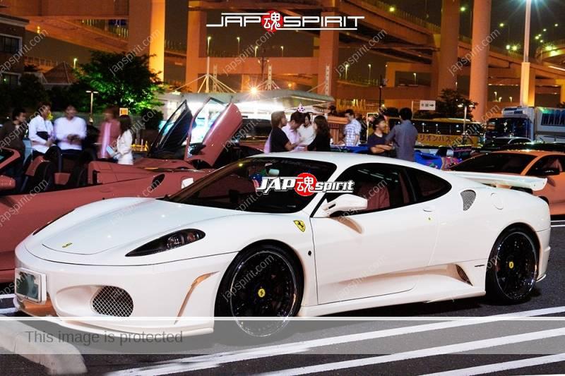 Ferrari 360modena super car white color custom spoiler (2)