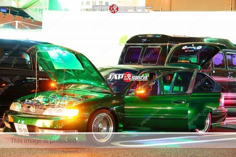 HONDA Accord wagon metallic green with beautiful green lighting up and audio system (6)