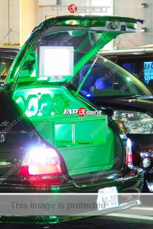 HONDA Accord wagon metallic green with beautiful green lighting up and audio system (2)