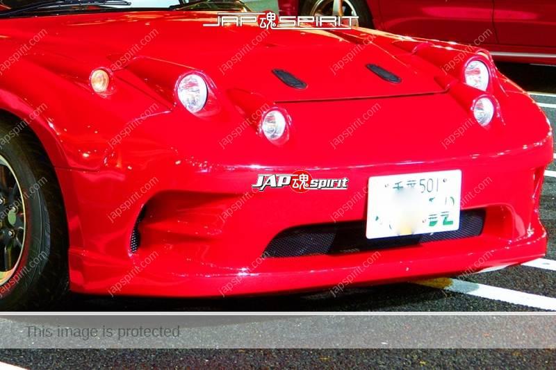 MAZDA MX-5 Miata Roadster Spokon style red color special head light (2)