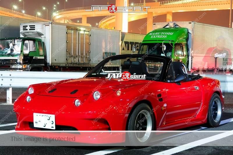 MAZDA MX-5 Miata Roadster Spokon style red color special head light (1)
