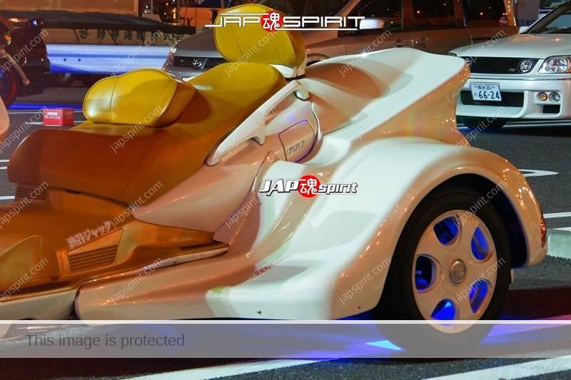 SUZUKI Skywave 650 trike style white color customized by trike Japan (1)