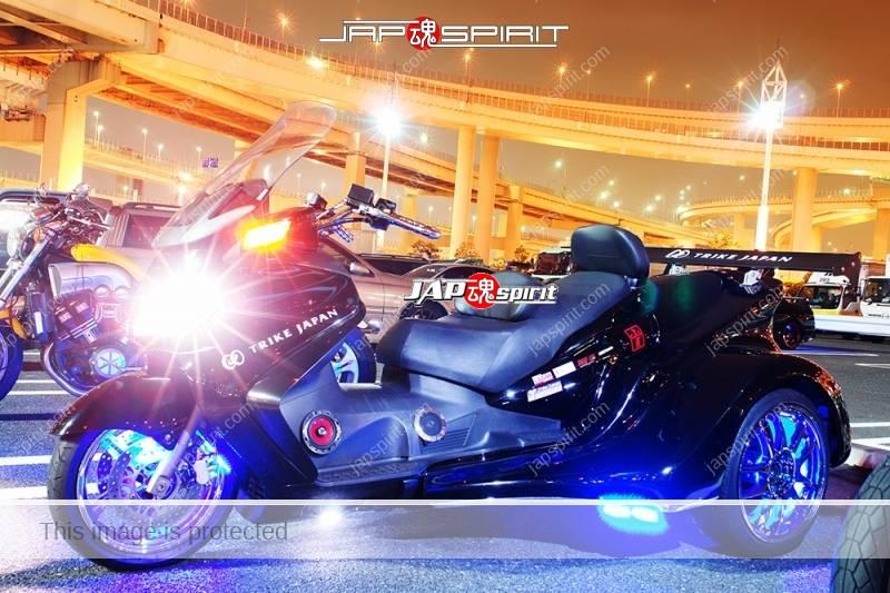 SUZUKI Skywave 650 trike style black color with GT wing (2)