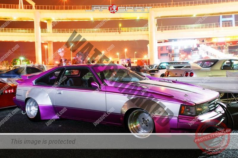 Toyota Celica XX (Celica Supra Mark I) Zokusha Purple & silver color team Mito racing (3)