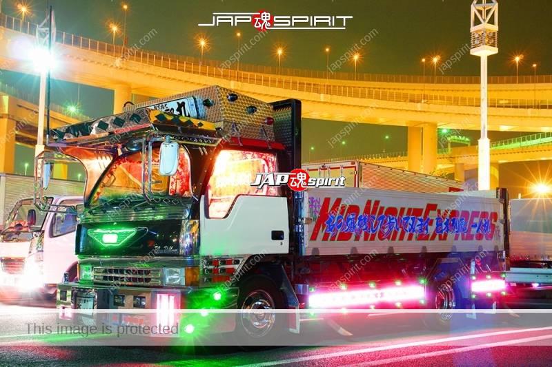 MITSUBISHI Fuso canter art truck at Daikoku PA (2)