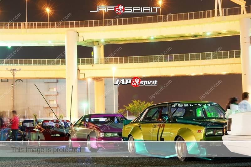 NISSAN Silvia S12 Zokusha Silhouette Ultraman custom long front Takeyari muffler Ultraman car (5)
