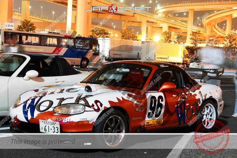 Photo of MAZDA Roadster 2nd NB, Vinylgraphic with GT wing