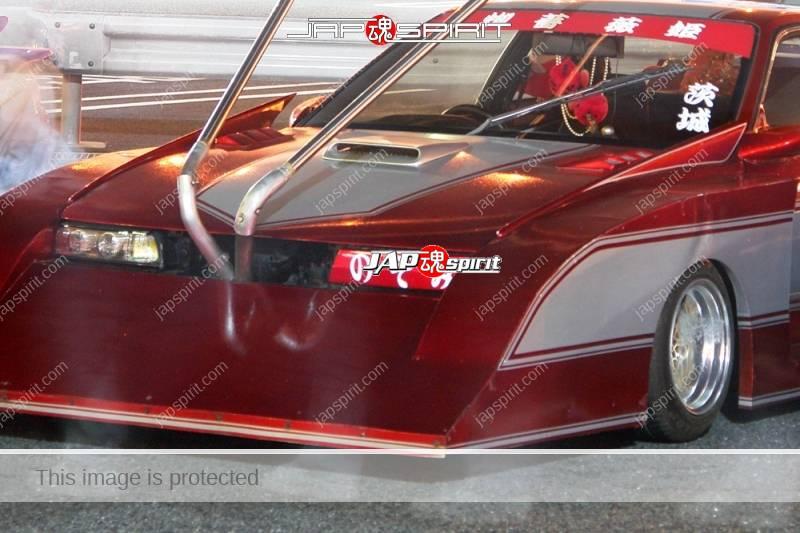 NISSAN Silvia S12 Zokusha Silhouette Ultraman custom long front Takeyari muffler Ultraman car (4)