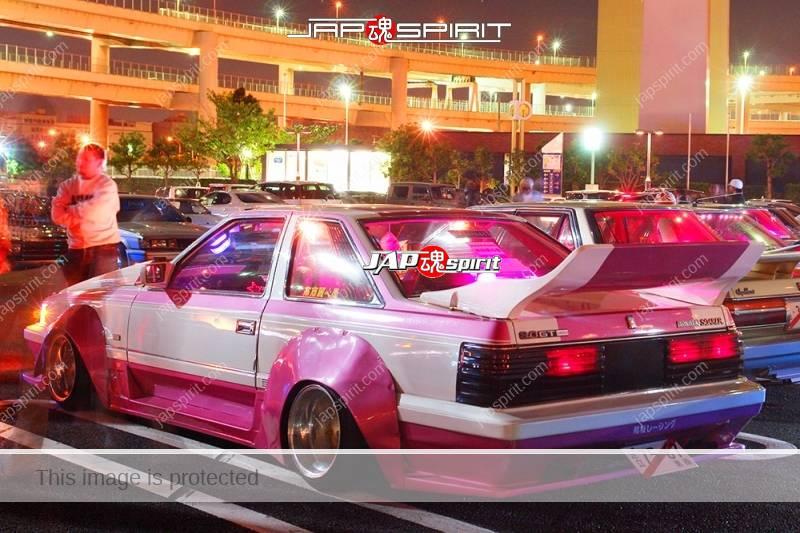 TOYOTA Soara Z10 Zokusha gundam style bonnet pink & white color team Ribbon racing (4)