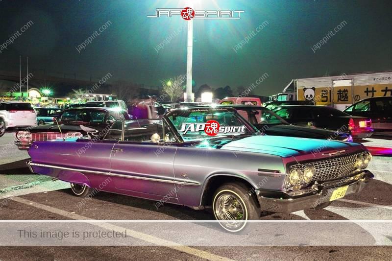 Photo of CHEVROLET Impalara Lowrider style convertible at Moriya PA
