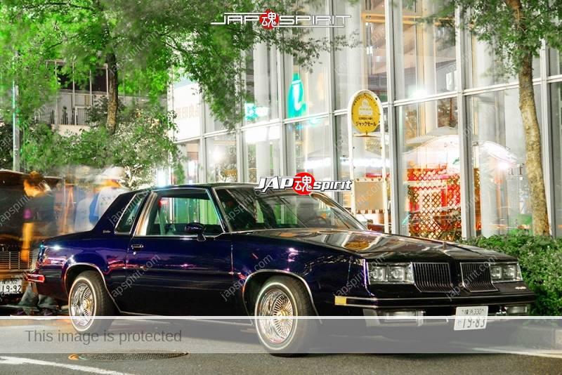 Photo of BUICK REGAL lowrider purple color at Minatomirai