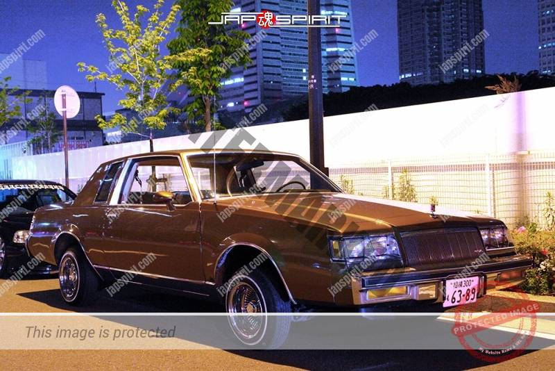 Photo of Buick Regal lowrider style brown color at Minatomirai