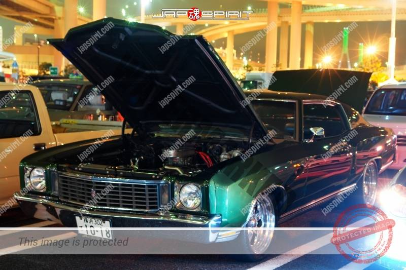 Chevrolet Monte Carlo1972 green color sound system in trunk 2