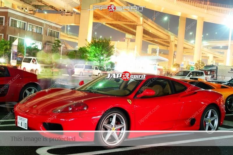 Ferrari 512TR & 360modena red color at Daikoku PA 3