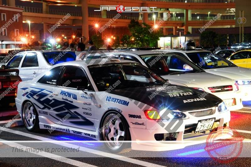 HONDA Accord coupe 6th spokon style blue under lighting 1