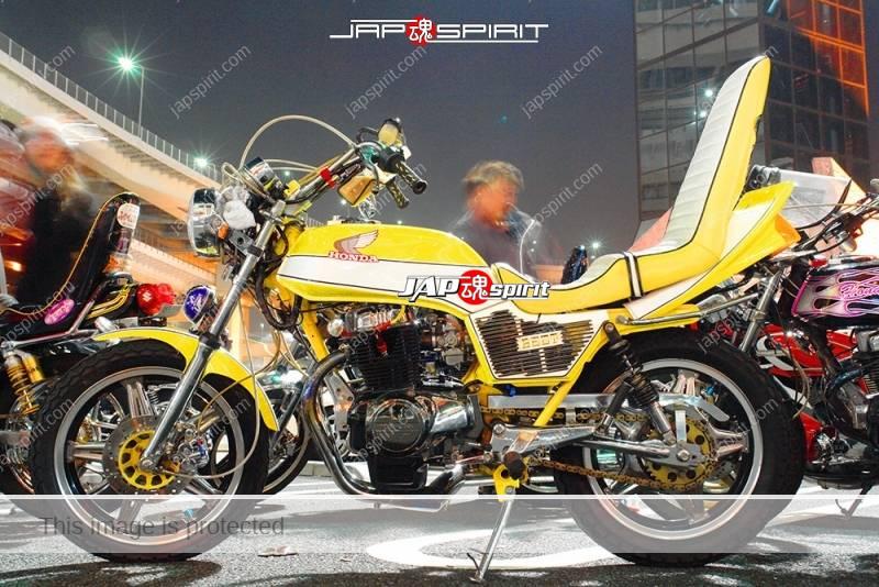 HONDA CB400D Super hawk III kyushakai yellow & white color sandan sheet 1