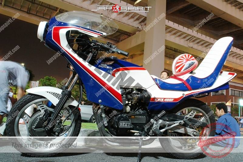 HONDA CBX400F Kyushakai Rocket 1