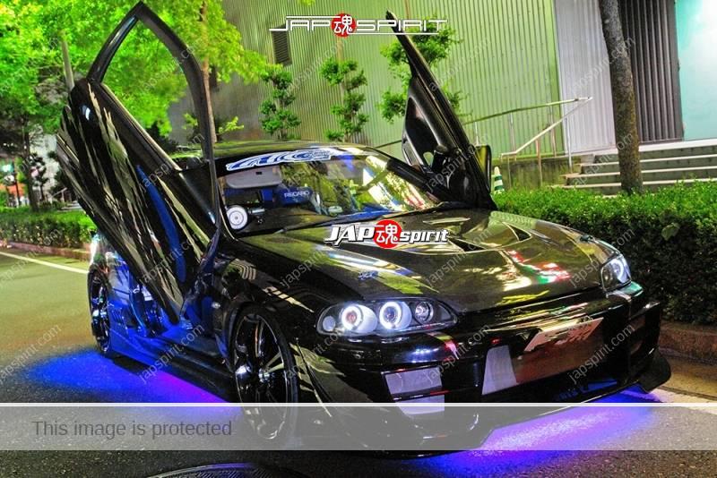HONDA Civic 5th EG Spokon style black color 2