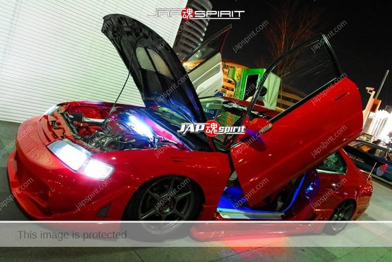 Photo of Honda accord CD Coupe Supokon, Scissor door Red color at Minatomirai