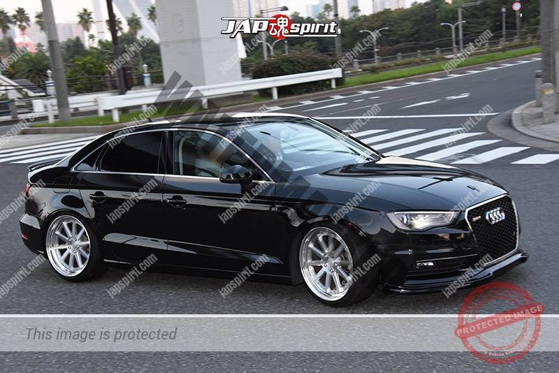 Stancenation 2016 Audi A3 Sedan Black Body At Odaiba Jap
