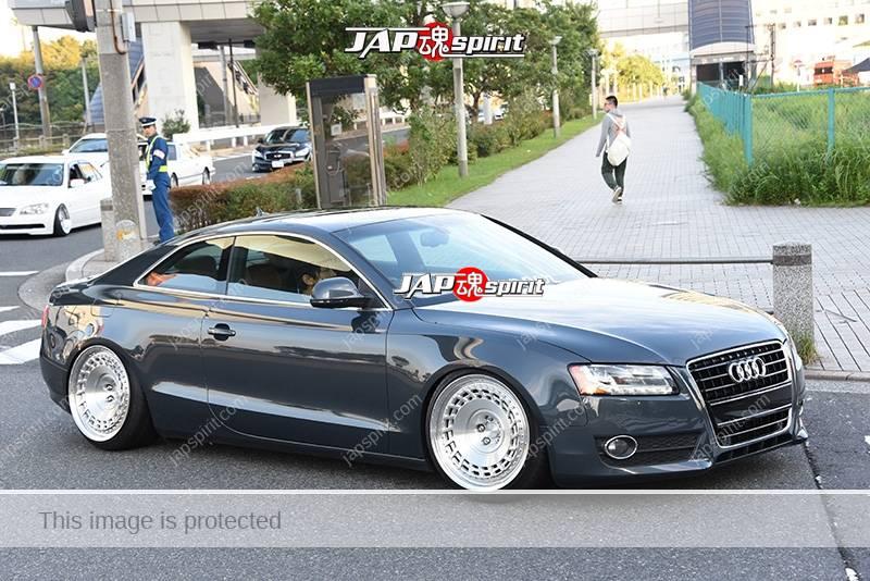 Photo of Stancenation 2016 Audi A5 hellaflush grey body team dropper