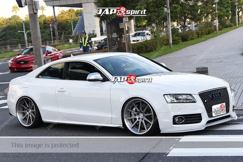 Photo of Stancenation 2016 Audi A5 white body at odaiba