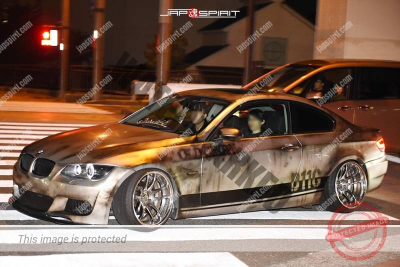 Photo of Stancenation 2016 BMW E92 Exhaust Stains paint