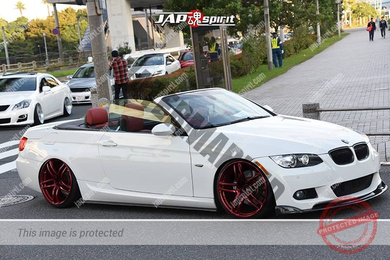 Photo of Stancenation 2016 BMW M3 E92 Cabriolet hellaflush white body red wheel