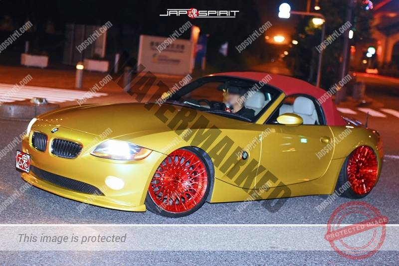 Stancenation 2016 Bmw Z4 Hellaflush Gold Color Car Club