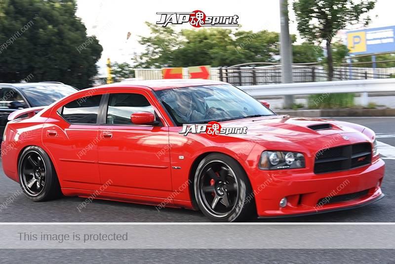 Stancenation 2016 Dodge Charger Hellaflush Mustle Car Red