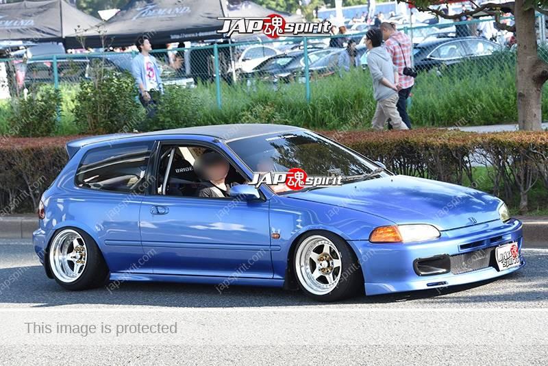 Photo of Stancenation 2016 Honda Civic 5th EG hellaflush USDM tsuraichi blue body