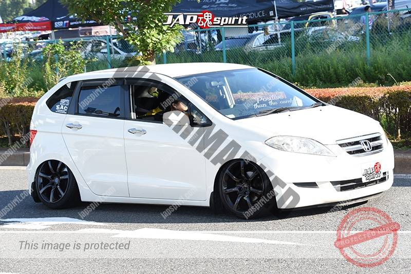 Photo of Stancenation 2016 Honda Edix hellaflush tsurauchi white body at odaiba
