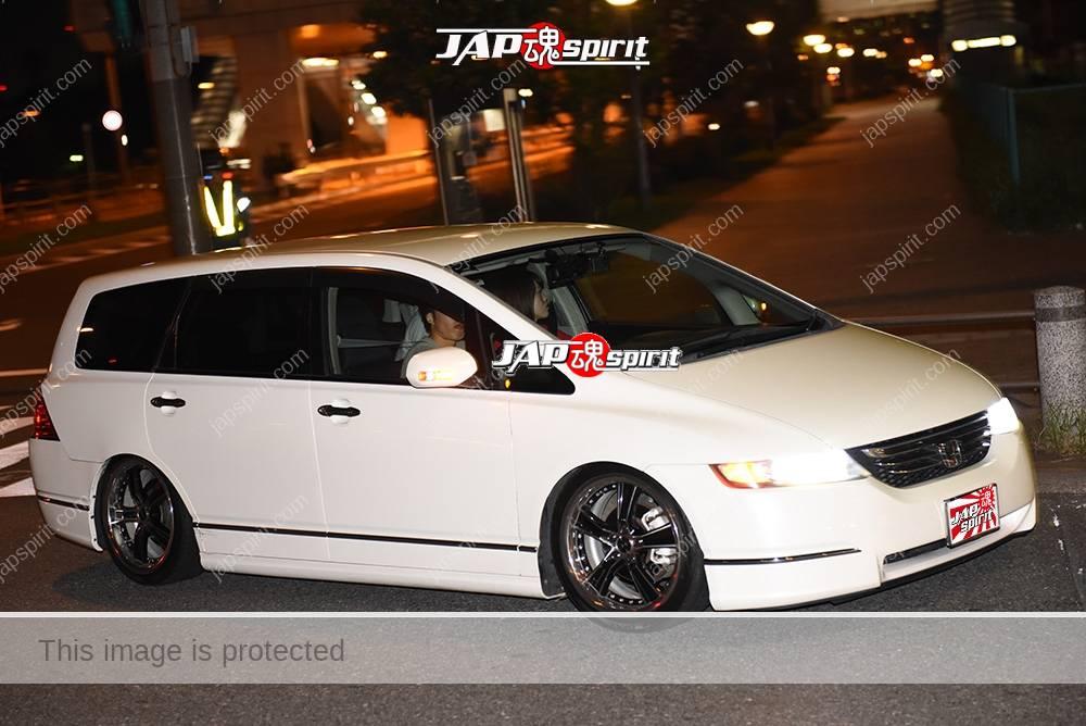 Photo of Stancenation 2016 Honda Odyssey RB white body at odaiba