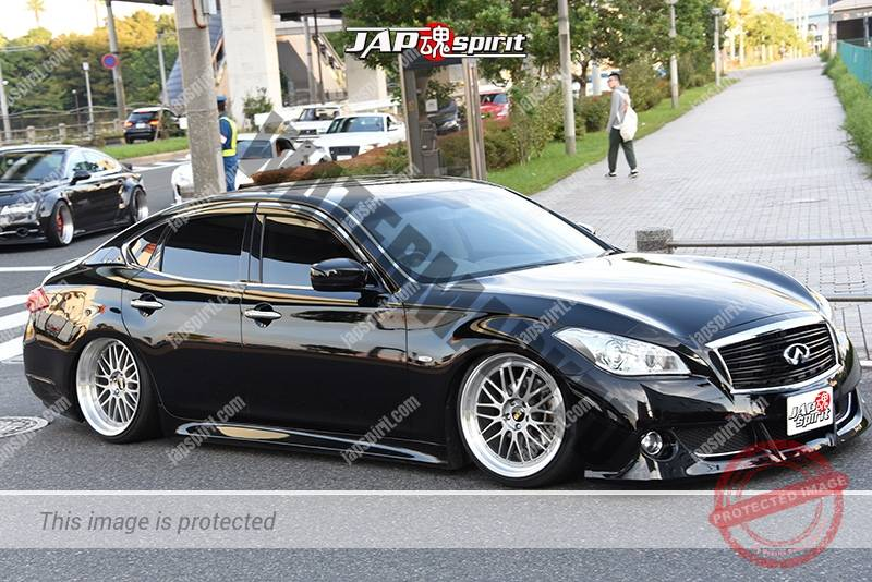 Photo of Stancenation 2016 Infiniti G37 VIP hellaflush black body at odaiba