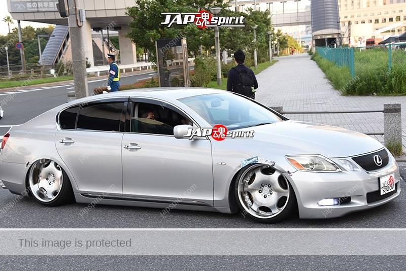 Photo of Stancenation 2016 Lexus GS S19 hellaflush VIP silver body at odaiba