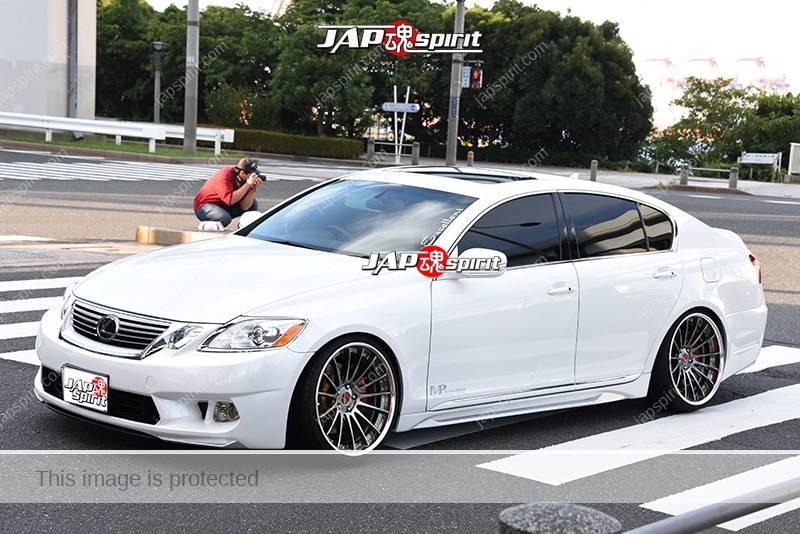 Photo of Stancenation 2016 Lexus GS S19 hellaflush VIP white body at odaiba