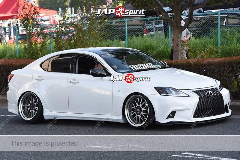 Photo of Stancenation 2016 Lexus IS 3rd hellaflush white body team Fascinate