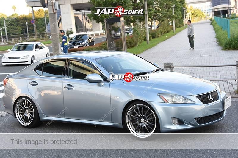 Photo of Stancenation 2016 Lexus IS grey body at odaiba