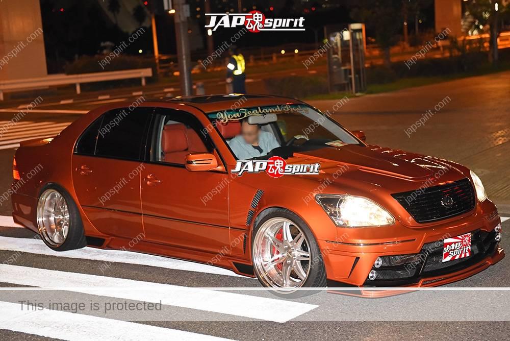 Photo of Stancenation 2016 Lexus LS F30 VIP hellaflush style orange body good bumper