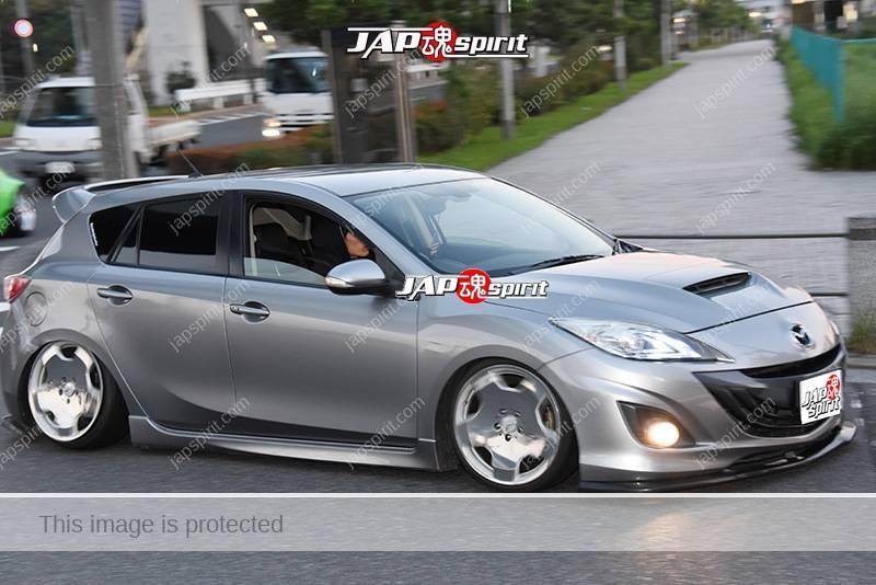 Photo of Stancenation 2016 MAZDA AXELA Mazda3 hellaflush at Odaiba