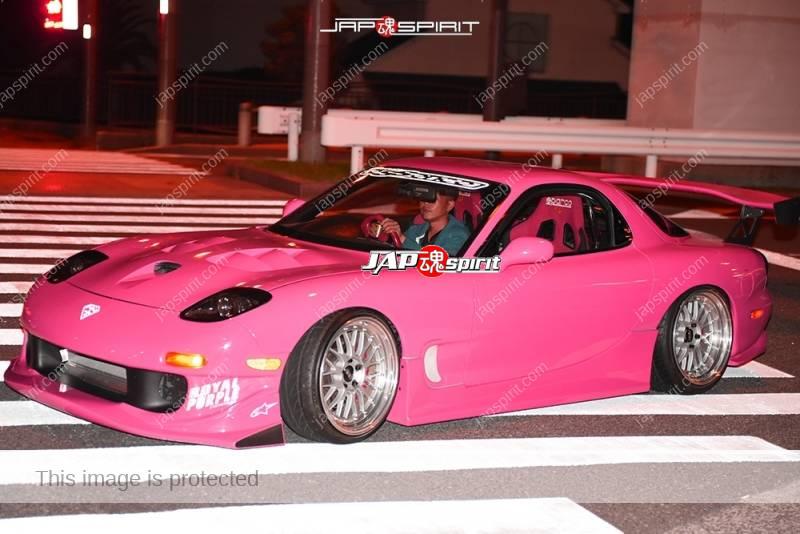Stancenation 2016 Mazda RX7 FD pink low style 1