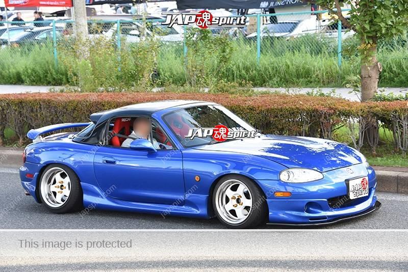 Photo of Stancenation 2016 Mazda Roadster MX-5 hellaflush blue body